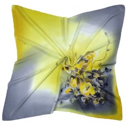AM-221 Hand-painted Silk Scarf