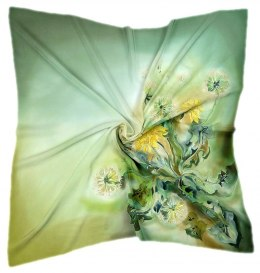 AM-231 Hand-painted Silk Scarf