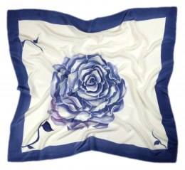 AM-261 Hand-painted silk scarf, 90x90cm
