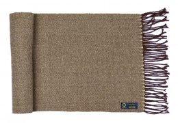 Men's Warm Beige Scarf - Viscose